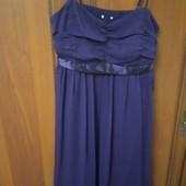 Симпатичное платье на бретельках