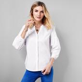 Нежная блуза-рубашка натуральный хлопок Tchibo(Германия), наши размеры: 44-46 (36 евро)