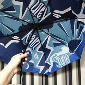 Яркий, очень красивый зонт, автомат
