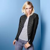 Стеганое куртка -жакет из смешанного материала от Tchibo (германия) размер 38 евро=44