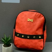 Рюкзак для девочек, в наличии красный