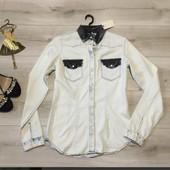 Новая, джинсовая рубашка Amy gee, р.40 (m)