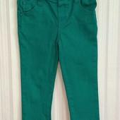 Зеленые штаны для девочки Bluezoo р. 2-3 года