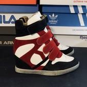 Сникерсы, р40 (25 см) кроссовки на каблуке Распродажа последних размеров -70 %