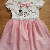 Платье с фатинновой юбкой 6-8 лет.