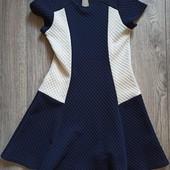 Фактурное платье 9-10 лет.