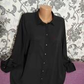 Новая лёгкая,фирменная блуза с рукавом трансформер,54размера.