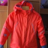 Куртка, демисезон, внутри флисовая подстежка, р. 5-6 лет 116 см, H&M. состояние отличное