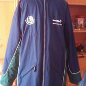 Куртка, 2-х сторонняя, внутри флис, размер XL. Jerzees outdoors. в идеале