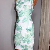 Качество!Стильное и нежное платье Clockhouse, в отличном состоянии, р.L маломерит, на М-Л