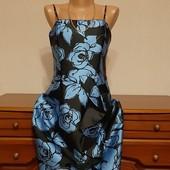 Шикарное платье 2 в 1 в идеальном состоянии р-р 42/44