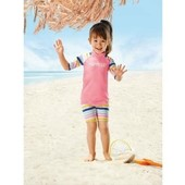 Комплект для купания девочке Lupilu Германия, защита от ультрафиолетового излучения размер 86/92