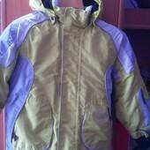 Термо Куртка, внутри флис, демисезон, р. 3 года 98 см, Marc Girardelli. состояние отличное