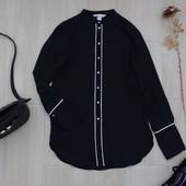 Стильная черная рубашка H&M ! УП скидка-10%