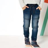 Классные термо джинсы джоггеры на мальчика Lupilu Германия размер 110