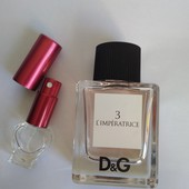 Оригинал!5 мл Dolce&Gabbana 3 L'Imperatrice