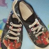 Кеды с шнурками-лентяйками + кеды на липучках