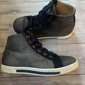 Полностью кожаные Деми ботиночки Stups 29 размер стелька 18,5 см