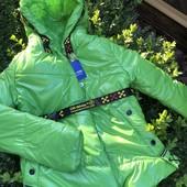 Последние модные деми курточки для девочек, р.140-164
