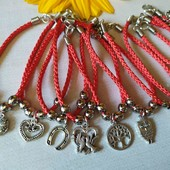 Красная нить - браслет оберег