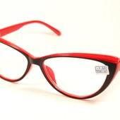 Стильные имиджевые очки Кошечки и Лисички для зрения! Низкая цена !минус -2, -2,5, -3.