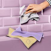 ☘Лот 1 шт☘ Салфетка для чистки любых поверхностей без разводов от Tchibo (Германия)