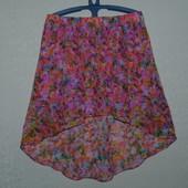 Очень красивая шифоновая юбка размер 48