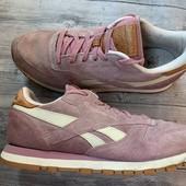 Замшевые кроссовки Reebok 39 размер стелька 24,5 см