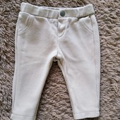Классные штаны zara для малышки, 0-3-6мес.
