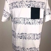 Стильная футболка. pull&bear, 100% cotton