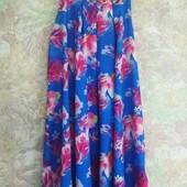 Красивое платье сарафан для девочки.