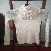 Школьные блузки на 5-7 лет. 3 вида