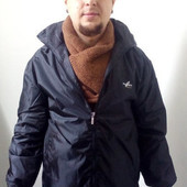 Мужская теплая деми-куртка на синтепоне и флисе. Бренд Maui Sport. Размер L