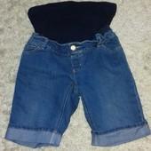 Продам джинсовые шорты для беременных. Отличное состояние. Смотрите замеры.