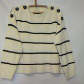 вязаный свитер в стиле оверсайз р.л
