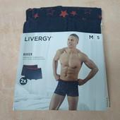Набор мужских боксеров , от , Livergi, размер М, набор 2 штуки