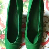 Тканевые туфельки l=26 см