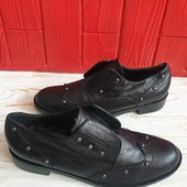 Натуральні шкіряні туфлі від Minelli