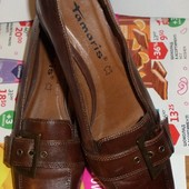Туфли Tomaris (Томарис) р. 37-38, натуральная кожа, новые.