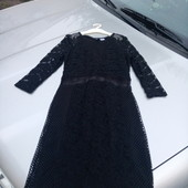Стоп!! Фирменное красивое яркое ажурное нарядное платье
