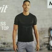 Отличная мужская бесшовная спортивная футболка Crivit Германия размер M (48/50)