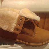 Женские Ботинки в стиле Timberland Teddy Fleece*цвет Cemel**