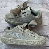 Замшевые кроссовки Puma оригинал 26 размер стелька 17 см