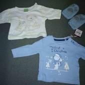 Пакет вещей новорожденному мальчику