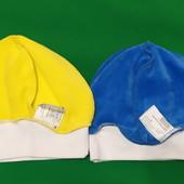 Велюровые шапочки (2 шт.)