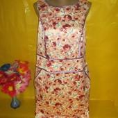 Очень красивое женское платье Teatro (титро) грудь 47-48 см рр 16 !!!!!!