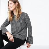 ☘ Стильная блуза с узором от Tchibo(Германия), наши размеры: 48-50 (42 евро)