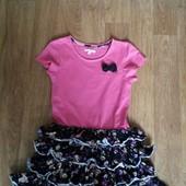 Шикарное нарядное платьице на девочку 9-11 л.