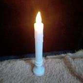 Свеча Led с электрическим гнотиком.1шт.24 см