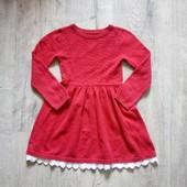 Вязаное платье нм на 3-4 года в хорошем состоянии